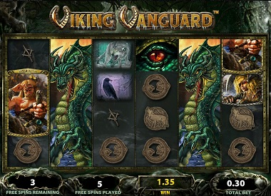 Viking Vanguard Slot Williams