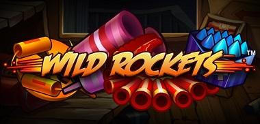 Wild Rockets Slot Banner