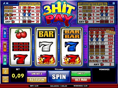 3 Hit Pay Slot Game