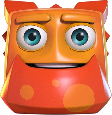 Energoonz Orange Dude