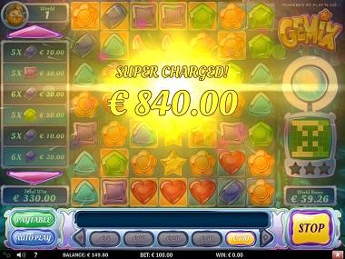 Gemix Slot Big Win