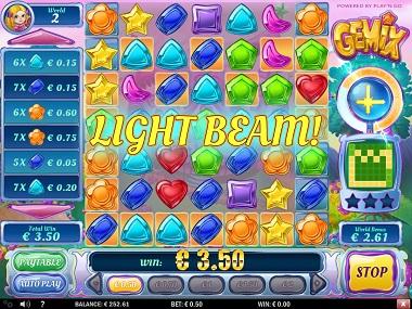 Gemix Slot Light Beam