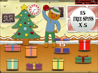 Gingerbread Lane Free Spins