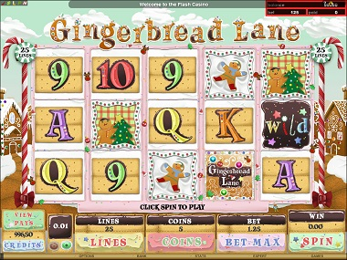 Gingerbread Lane Online Slot
