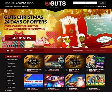 Guts Casino Christmas