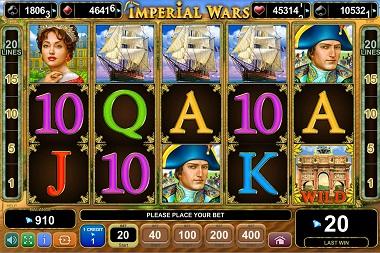 Imperial Wars Slot EGT