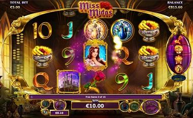 Miss Midas Base Game