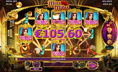 Miss Midas Slot Big Win