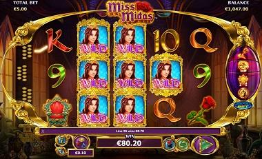 Miss Midas Slot Screenshot