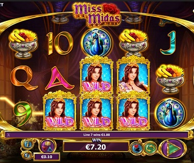 Miss Midas Slot Wilds