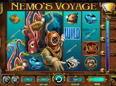 Nemos Voyage Slot Williams Interactive