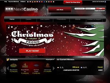 NextCasino Christmas