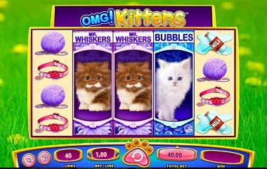 OMG Kittens Slot Game