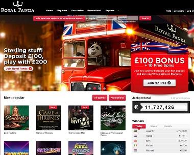 Royal Panda Casino UK