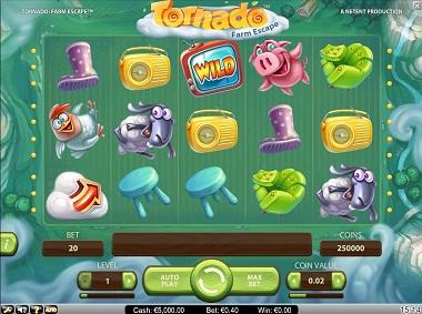 Tornado Slot Main Game