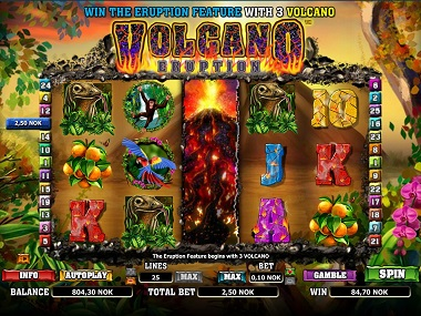 Volcana Eruption Slot Game
