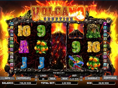 Volcana Eruption Slot Wild