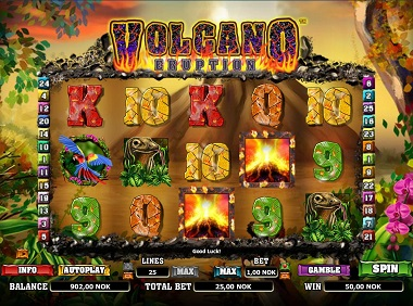 Volcana Eruption Slot