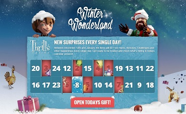 Winter Wonderland Calendar