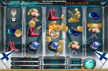 Ski Jump™ Slot Machine Game to Play Free in Genesis Gamings Online Casinos
