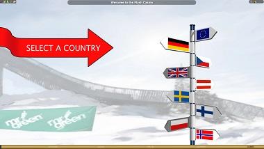 Ski Jump Select Country