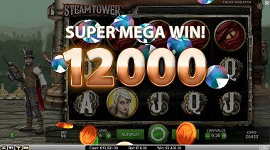 Steam Tower Big Win