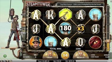 Steam Tower Bonus