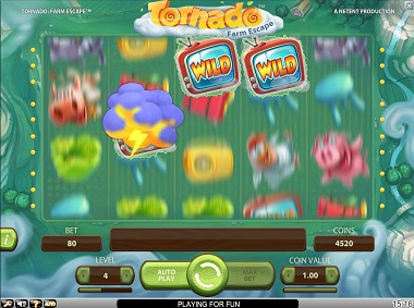 Tornado NetEnt Slot Game