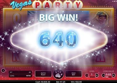 Vegas Party Slot Big Win