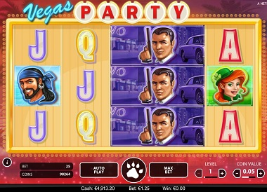 Vegas Party Slot NetEnt