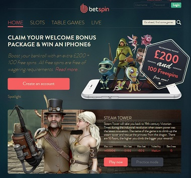 Betspin UK Site