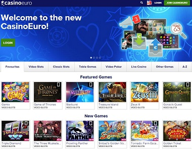 CasinoEuro New Site