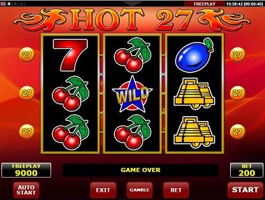 Hot 27 Slot Amatic