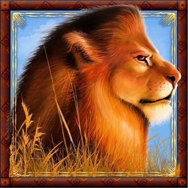 Lion Savanna King