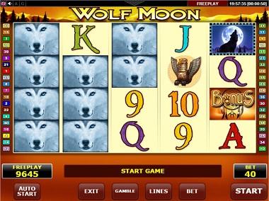 Wolf Moon Slot Amatic