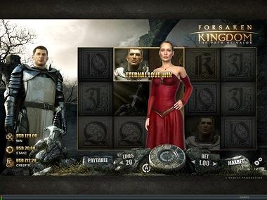 Forsaken Kingdom Bonus Feature
