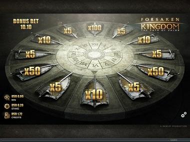 Forsaken Kingdom Bonus