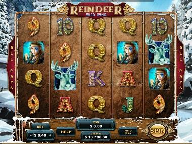 Reindeer Wild Wins Base Game