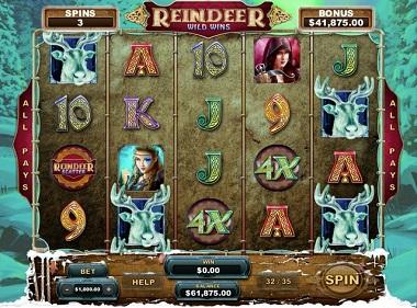 Reindeer Wild Wins Slot Game
