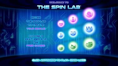 The Spin Lab Bonus Feature