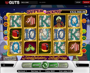 Arabian Nights Guts Casino