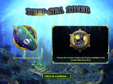 Deep-Sea Diver Opening