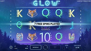 Glow Free Spins