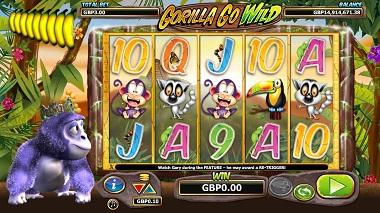 Gorilla Go Wild Base Game
