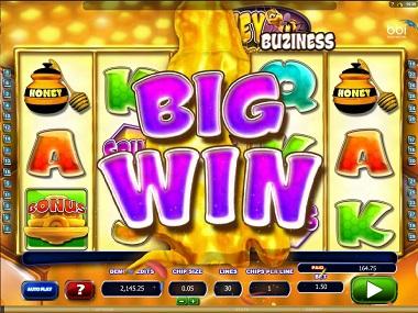 Honey Buziness Big Win
