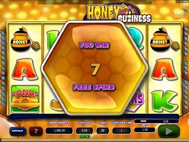 Honey Buziness Free Spins