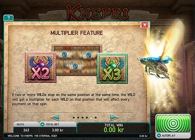 Khepri Multiplier Bonus