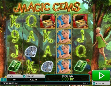 Magic Gems Video Slot