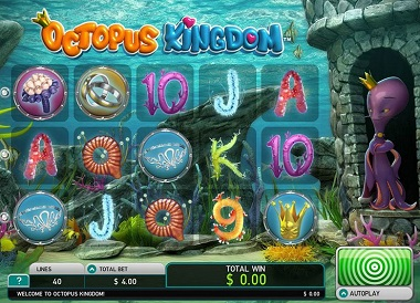 Octopus Kingdom Slot Game