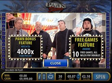 Pawn Stars Online Slot Bally